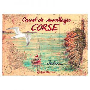 Carnet de mouillage Corse - Sabine Chautard recto